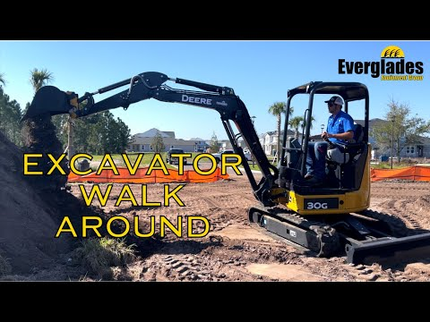 John Deere Excavator Walkthrough 2021