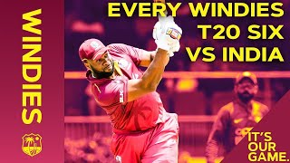 🔴LIVE STREAM Pollard, Pooran and Powell Six-Fest! | Every Windies T20 Six vs India