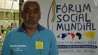 Aurino Pedreira convida para o FSM 2018