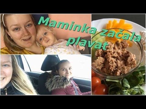 Maminka začala plavat | MamaVlog