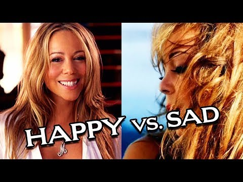 Mariah Carey - Happy Vs. Sad Songs!