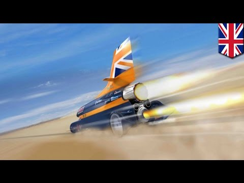 1000 Mph Supersonic Car To Break Land Speed Record