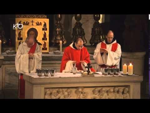 Vêpres et Eucharistie du 13 décembre 2014