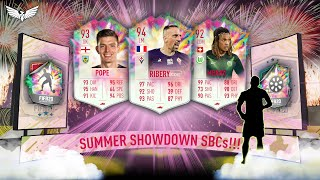 94 SUMMER HEAT RIBERY SBC - 92 MBABU & 93 POPE FREE OBJECTIVES CARDS - FIFA 20 ULTIMATE TEAM