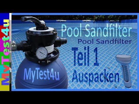 Pool Sandfilteranlage Teil 1 Auspacken der SFP von T.I:P.