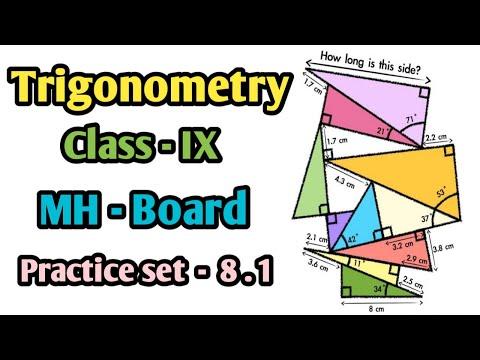Trigonometry class 9th Part-1 | Trigonometric Ratio Mathematics