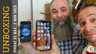 iPhone XS MAX e APPLE WATCH 4 Unboxing, prime impressioni e non solo...