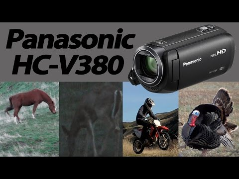 Panasonic HC V380 Camcorder Review & Test footage - zoom, outdoor, low light