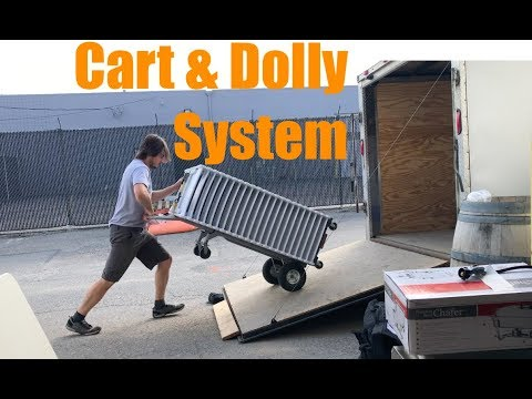 Best of Both Worlds - Cart & Dolly Transport System - Growing Event Rental Business