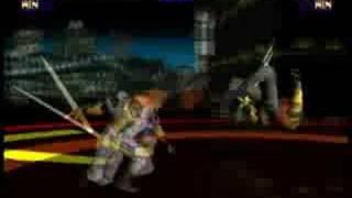 Battle Arena Toshinden Kayin Pro Gameplay 2/2