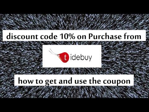 , title : 'Tidebuy discount coupon 10% off and how to use the coupon'