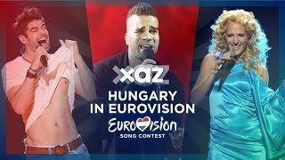🇭🇺 Hungary in Eurovision - Top 8 (2011-2018)