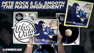 Discover Samples Used On Pete Rock & C.L. Smooth's 'The Main Ingredient'