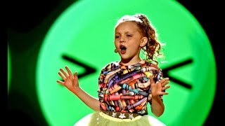"""9-letnia Julka pozytywnie nastroi Was piosenką Pharrella Williamsa 'Happy"""" [Mali Giganci]"""