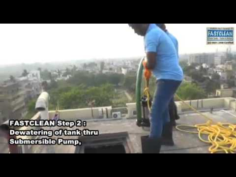 Water Tank Cleaning Services In Kolkata