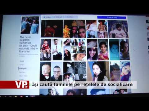Își caută familiile pe rețelele de socializare