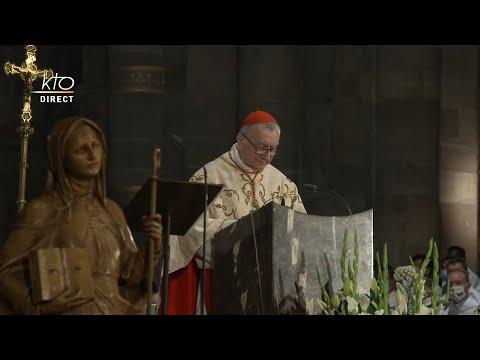 Messe du jubilé de Sainte Odile et Ordination épiscopale de Mgr Gilles Reithinger