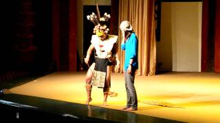 """Iban """"Ngajat Lesung"""" And Hornbill Dance Pt.2"""