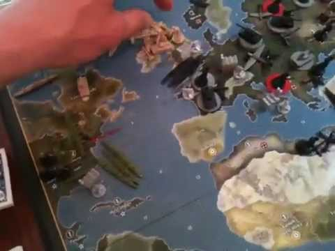 1942 Axis and Allies Strategy part 3