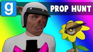 Gmod Prop Hunt Funny Moments - Hubbadah!! (Garry