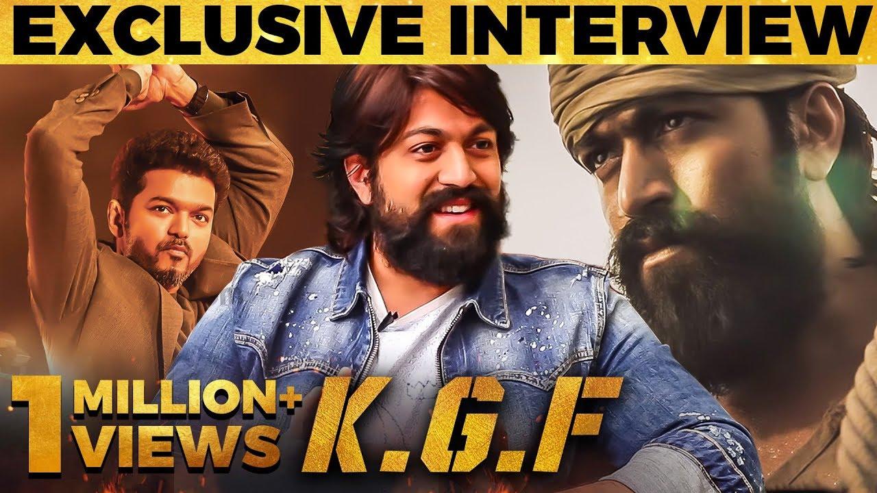 Thalapathy Vijay-னால மட்டும் எப்படி முடியுது ? - KGF Yash First Tamil Interview | MY 406