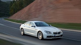 2015 BMW 6 Series Gran Coupe LCI Facelift - Driving Scenes