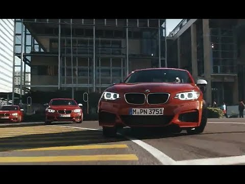 BMW M235i epic drifting