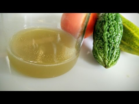 Video Diabetic Juice Recipe | Diabetic Home Remedies by Healthy Kadai