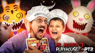CHEF DUDDY vs. Mr. HOPPS Playhouse 2!  Rabbit Stew Getting MADE yo! 🎶 Part 2 Gameplay/Skit