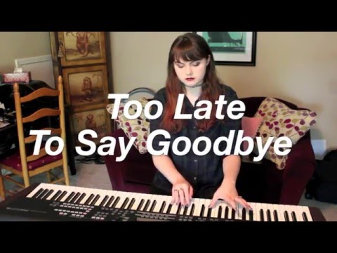 Too Late To Say Goodbye - Cage The Elephant Cover By Ele Ivory