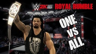 WWE 2K16 Royal Rumble 2016 Promo