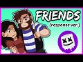FRIENDS [Animation] - Marshmello, Anne Marie (Cover by Caleb Hyles & Cami-Cat)