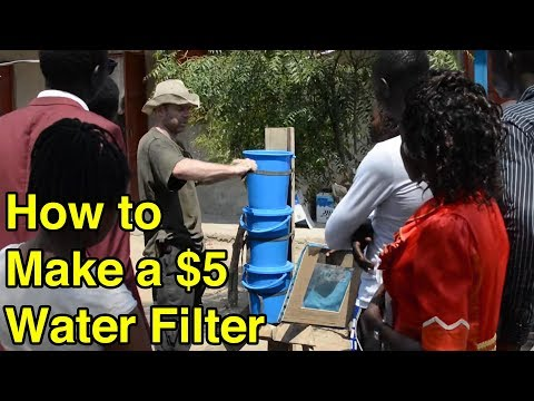 Make a $5 Emergency Water Filter