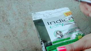 Indica 10 minutes easy shampoo based hair colour how to apply