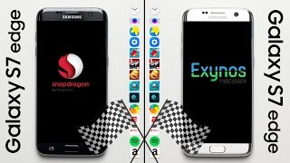 Galaxy S7 (Snapdragon) vs. Galaxy S7 (Exynos) Speed Test