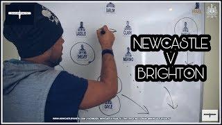 Tactics board   Newcastle United v Brighton   Preview