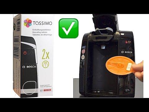 Tassimo JOY Entkalken | Anleitung | Bosch TAS4503