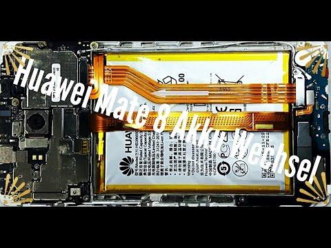 Huawei Mate 8 Akku Wechseln Tauschen/ Reparieren in unter 10 Min (Deutsch)