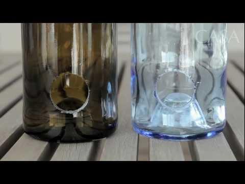 Decore c/ garrafas e cxs