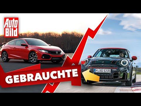 Honda Civic & Mini John Cooper Works   Das Gebrauchtwagen-Battle mit Conny Poltersdorf & Moritz Doka