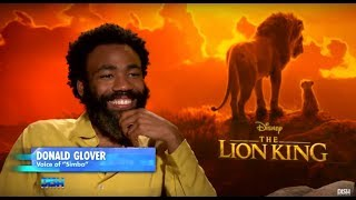 HAKUNA MATATA WHEN ANDREW FREUND SITS DOWN WITH THE CAST OF 'THE LION KING'