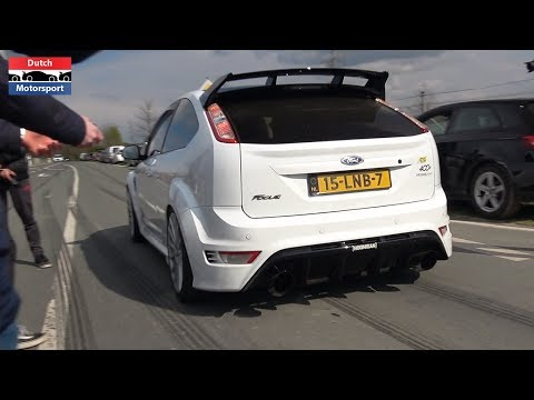 420HP Stage 2 Ford Focus RS Mk2 - Brutal Sounds & Accelerations!