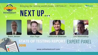 2018 State of Testing Report: Review Panel at Spring OnlineTestConf