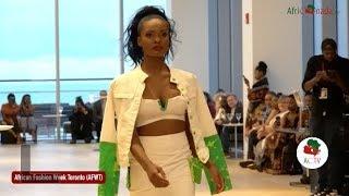 Rubi Bagaya Designer -African Fashion week Toronto 2018