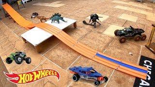 Hot Wheels Pista Montanha Dos Monster Jam - Carrinhos De Brinquedos #66