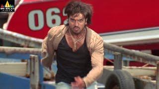 Chirutha Movie Ram Charan Action Scene   Ram Charan, Neha Sharma   Sri Balaji Video