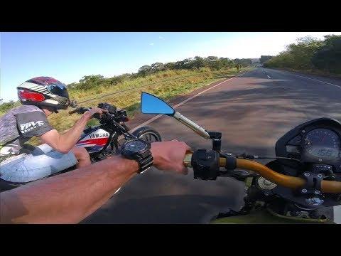 RD 135 ACELERANDO COM HORNET NA PISTA *assista!!!* TWO STROKE RACING