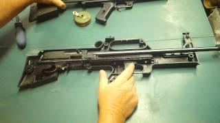 Ruger 10/22 Bullpup stock - CBRPS Ranger - hmong video