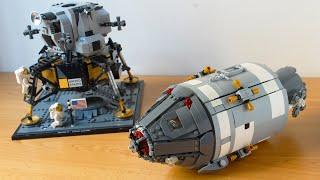 Lego Apollo 11 Command and Service Module MOC
