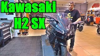 Kawasaki H2 SX. Убийца хаябусы. Обзор мотоцикла.